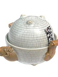 crackle modello cinese di tè in porcellana set, 1 pc teiera, 1 pc tazza di tè
