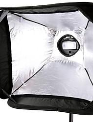 Godox s-tipo Bowens staffa Speedlite montaggio + 60 * 60cm softbox portatile sfuv-6060 per il flash della fotocamera