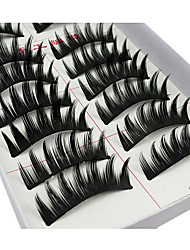 Eyelashes lash Eyelash Volumized / Curly Fiber