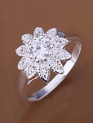 MINT 925 Silver Sunflower Ring