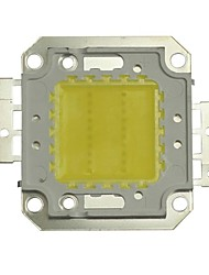 JIAWEN® 20W 1600-1800LM 6000K  Cold White LED Chip (DC 30-33V)