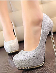 Amei Fashion Rhinestone Platform High Heel _141