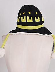 Hat/Cap Inspired by Dramatical Murder Noiz Anime/ Video Games Cosplay Accessories Hat Black Woolen Male