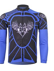 Men's Cycling Tops Long Sleeve Bike Spring / Summer / Autumn / WinterThermal / Warm / Ultraviolet Resistant / Quick Dry / Front Zipper /