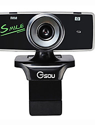 Gsou b18s High-Definition-UVC-Webcam mit Mikrofon für Desktop-Computer und Laptop