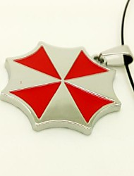 Resident Evil Umbrella Corporation of Red Alloy Cosplay Necklace