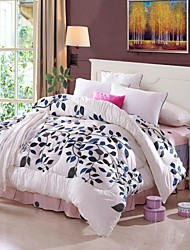 Shuian® Comforter Winter Quilt Keep Warm Thickening  Quilts with Printing Leaf Pattern