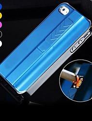 Enkay usb portátil de carga de caso 5/5 años atrás encendedor electrónico o iphone con protector de pantalla