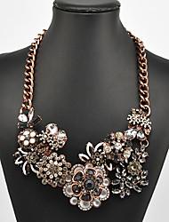 Eternity Women's Flower Pattern Necklace