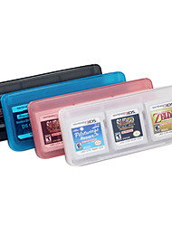 6-In-1 Storage Game Card Cases for 3DS 3DSLL Random Color
