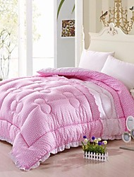Shuian® Comforter Winter Quilt Keep Warm Thickening Cotton Lace Quilts