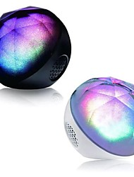 Crystals Magic Fantasy LED Discoloration Color Ball Remote Control Bluetooth Speaker Supports TF Card Slot Function