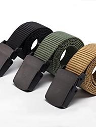 rockway® draußen Männer pom Schnalle Nylon schwarz Militärgürtel