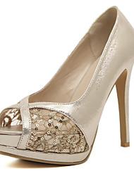 rendas sapatos dos pés descalços de Lobo mulheres