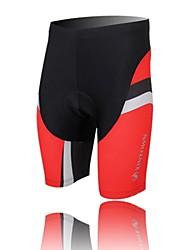 XINTOWN Unisex The High Quality Terylene Cushion Cycling Shorts—Black