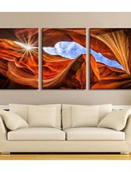 Personalized Canvas Print Stretched Canvas Art Rock Scenery 28x40cm  40x60cm  50x70cm  Gallery Wrapped Art Set of 3