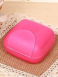 1 Piece Plastic Portable Candy Colour Soap Small Storage Box