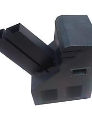 reallink® turbilhão elétrica confetti máquina, equipamento profissional de efeitos de palco para apresentações, palco, etc