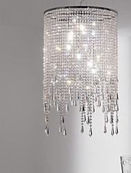 Crystal Pendant Lights , Modern/Contemporary Living Room Metal