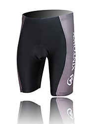 XINTOWN Unisex The High Quality Terylene Ultraviolet Resistant Cycling Shorts—Grey+Black