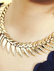 Women's Statement Necklaces Alloy Fashion Statement Jewelry Jewelry Casual 1pc