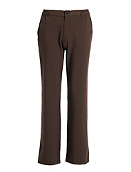 Women's Brown Zipper Trouser