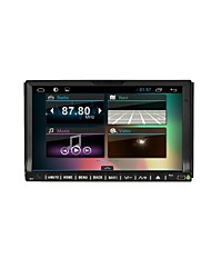 7'' Car Android 4.2 OS 2 DIN Decline in panel Universal DVD GPS player with Navigation OBD II WiFi 3G Multi-color adjust