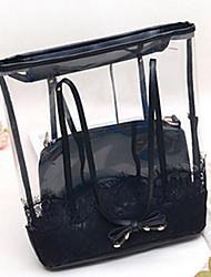 neue Portierung der Frauen moderne Spitzen-Kunststoff-Verbundpaket 25 * 38 * 10cm