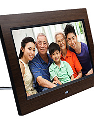 10.1 Inches HD Digital Wooden Photo Frame with 4G Memory Card