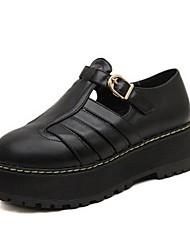 zapatos de las mujeres Smandy tacón de cuña punta redonda zapatos de las bombas (más colores disponibles)