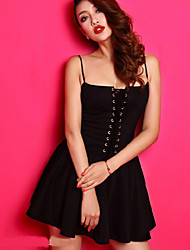 juanmei novo 2014 mulheres sexy cintura alta vestido bolha gallus do vintage com pasta de mama