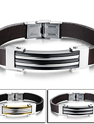 Fashion Personality Contracted Joker Hipster Fashion Leather Bracelet Christmas Gifts