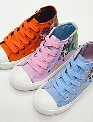 Sneakers Tendance ( Bleu/Rose/Orange ) - Toile - Confort