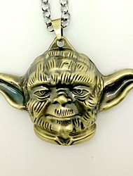 Star Wars Master Yoda Cosplay Necklace
