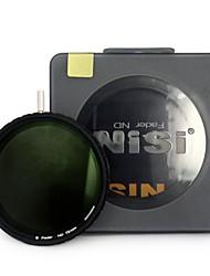 nisi 72mm nd4-500 ultradünne Neutraldichtefilter einstellbarer Dimmer