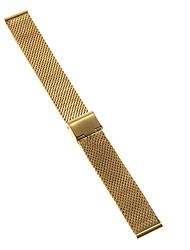 Herren Damen Uhrenarmbänder Edelstahl #(0.047) #(16.5 x 1.8 x 0.3) Uhren Zubehör