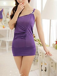 Women's Sexy Pajamas and T One Shoulder Cultivate One's Morality
