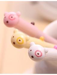 милые Ручки гелевые медведь разработка пластиковые (случайный цвет x1PCS)
