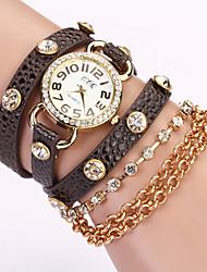 siete niña reloj pulsera de cadena _36