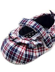 Chaussures bébé Robe Coton Ballerines Multi-couleur