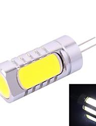 g4-6d 6w 180lm 7000k blanc conduit ampoule (dc 12v)