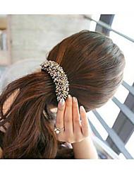 High Quality Charming Crystal Hair Clips Barrettes Random Color