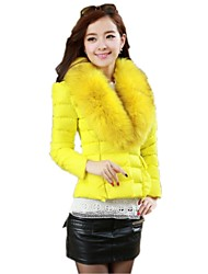 New Autumn Winter Womens Short Cotton Down Feather Coat