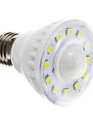 2w e27 led spotlight sensor a60 (a19) 12smd 5050 85-150lm chaud / cool blanc ac220-240 v