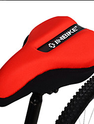 INBIKE Lycra+EVA Red 3D Cycling Saddle Cover