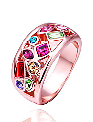 Daisy Women's Fashion Colorful Diamond Ring