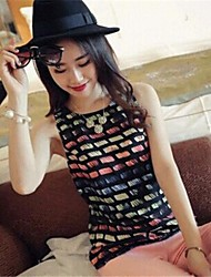 Women's New Fashion Print Slimming Vast