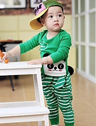 Boy's Cotton Clothing Set , All Seasons Long Sleeve