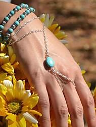Women's Fashion Hand Chain Ring Bracelet