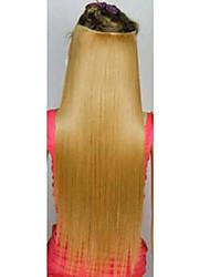 Clipes venda quente colorida Colour Bar atacado da menina do cabelo Extensão Popular 24 polegadas